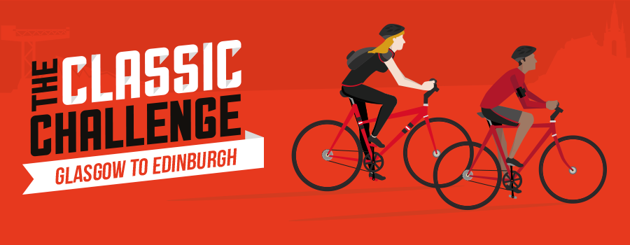 Glasgow to Edinburgh Classic Challenge Banner