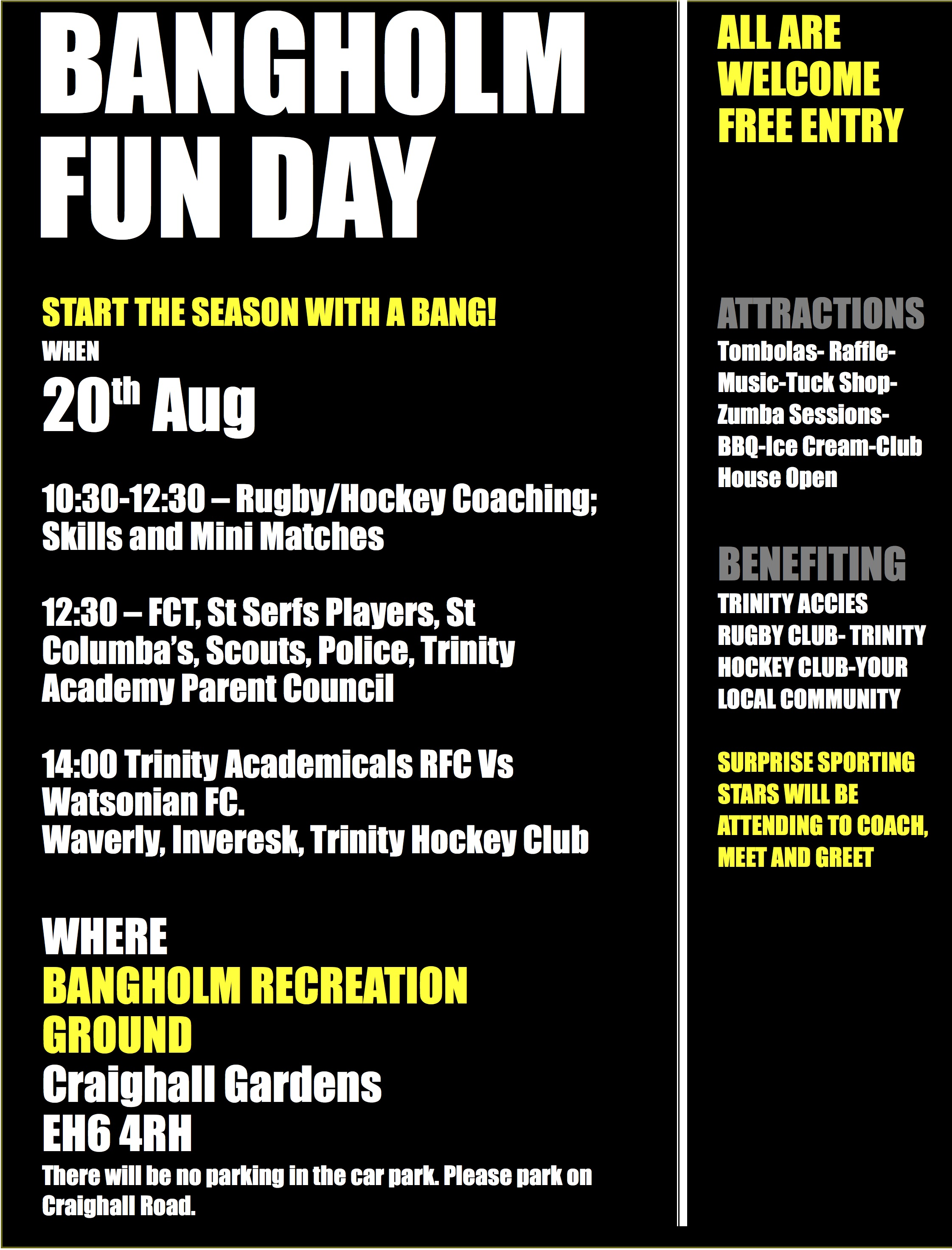 Access fun day poster