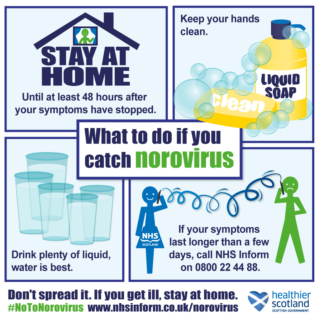 Norovirus - what to do