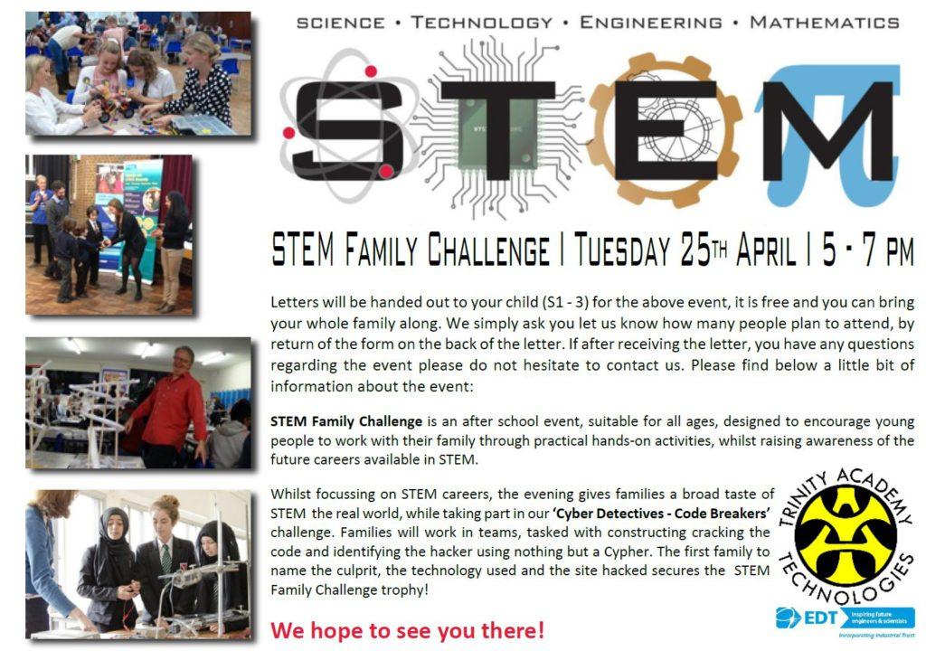 STEM Challenge Poster