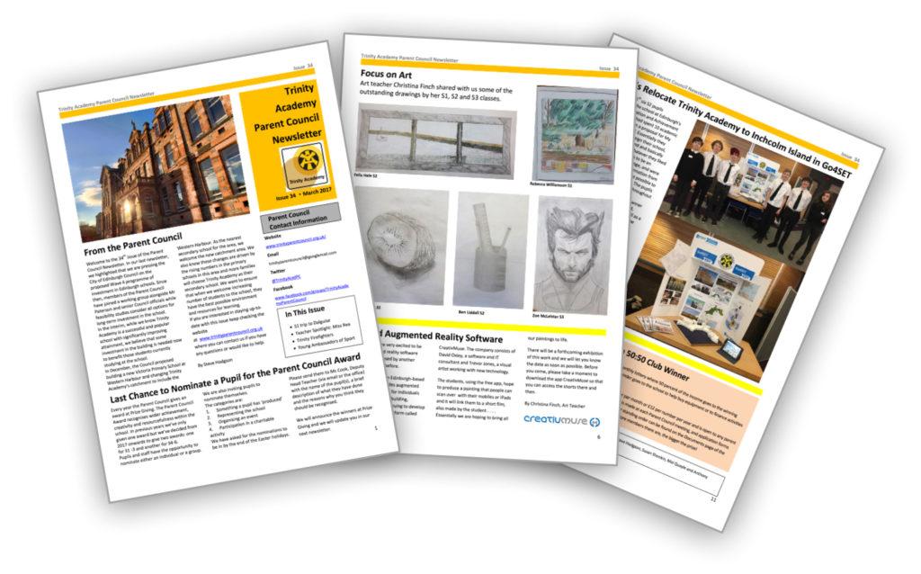 Newsletter thumbnails