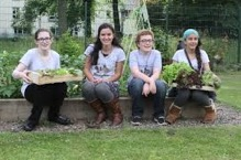 Trinity S1 outdoor learning through gardening